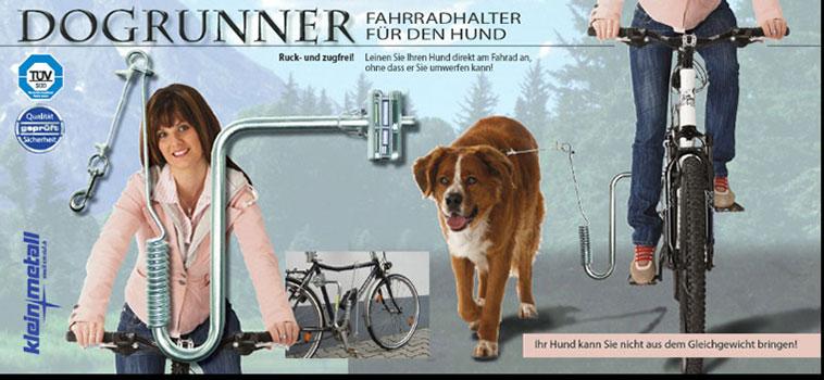 """Altra fietsbeugel """"dogrunner"""""""