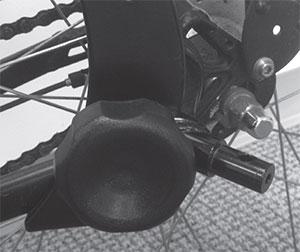 Hitch adapter extra koppeling voor speciale fiets