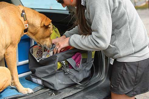 Ruffwear Haul Bag reistas voor honden spullen