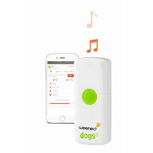 U kunt de hond trainen om te komen met geluid en trillingen