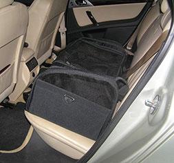 honden autozitje Car Seat Kennel
